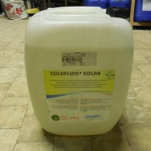 Fluide caloporteur solaire antigel Solufluid Solar