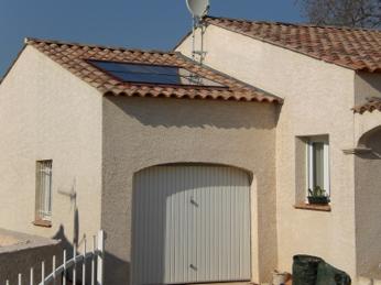 capteurs solaires intégrés