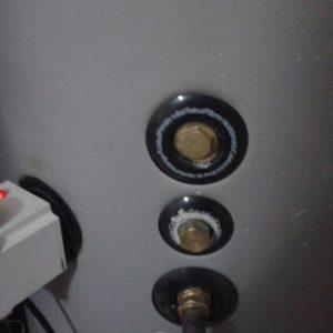 Résistance électrique 2,5 kW pour chauffe eau solaire